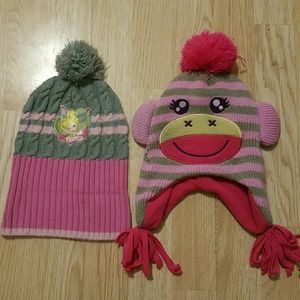 Other - 5 for $20 sale Girls winter hat bundle